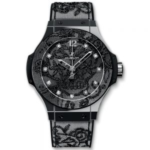 Big Bang Broderie Steel 343.SS.6570.NR.BSK16 Hublot