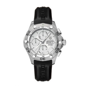 Aquaracer Calibre 16 Day-Date Chronograph Silver CAF2011.FT8011 TAG Heuer