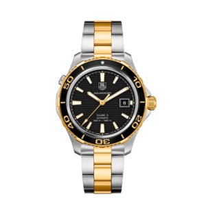 AquaRacer Automatic Black Dial Two-tone WAK2122.BB0835 TAG Heuer