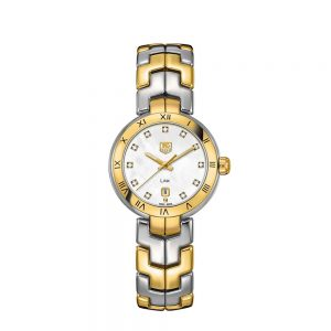 Link Diamond Mother of Pearl Dial WAT1453.BB0955 TAG Heuer