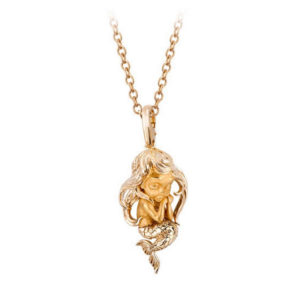 Колье Little Mermaid Yellow Gold | Little Magic Magerit