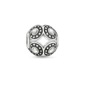Бусины Wave Backened Silver Thomas Sabo