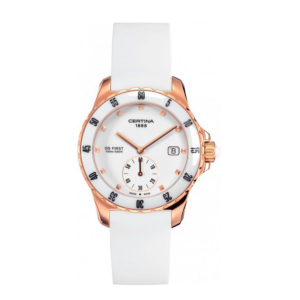 DS First Lady White Dial C034.417.36.057.00 Certina