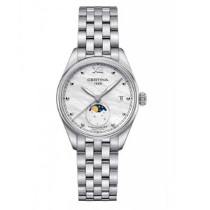 DS-8 Lady Moon Phase C033.257.11.118.00 Certina