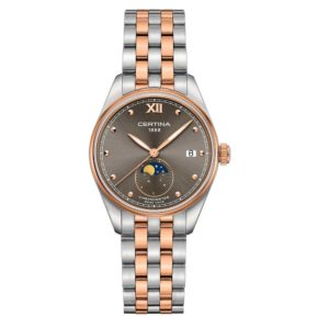 DS-8 Lady Moon Phase C033.257.22.088.00 Certina