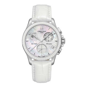 DS First Lady Chronograph Moon Phase C030.250.16.106.00 Certina